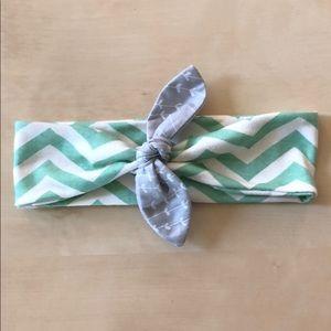 Other - Toddler Headband Organic Cotton Jersey Knit Mint